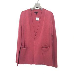 EILEEN FISHER Silk & Cotton Long sleeve Jacket S/P
